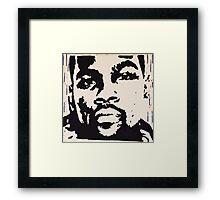 KD Framed Print