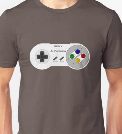 SNES PLAYSTATION Unisex T-Shirt