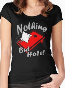 Nothing But Hole! Women's Fitted Scoop T-Shirt