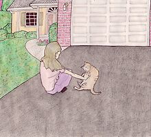 charlotte in the driveway by billemiche
