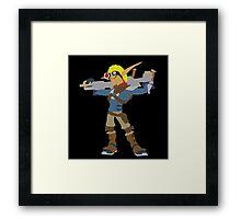 Jak 2 Renegade-Jak Framed Print