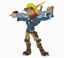 Jak 2 Renegade-Jak by TheRedPencil