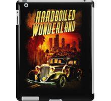 Hardboiled Wonderland Film Noir Design iPad Case/Skin