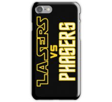 Lasers VS Phasers iPhone Case/Skin