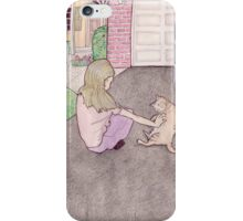 charlotte in the driveway iPhone Case/Skin