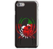 DARFUR SPIDER SKULL FLAG  iPhone Case/Skin