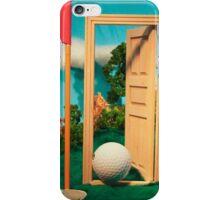Let's Play Golf - Backdoor iPhone Case/Skin