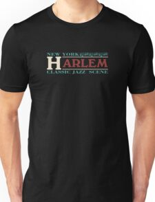 Harlem jazz music Unisex T-Shirt