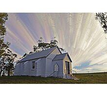 Mount Lambie Church Photographic Print
