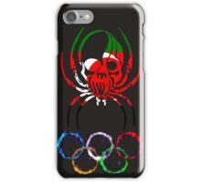 DARFUR SPIDER SKULL FLAG RINGS iPhone Case/Skin