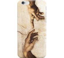 Michaelangelo - Sistine Chapel - Creation of Adam iPhone Case/Skin