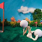 Let's Play Golf - Tee For Two by Alex Grisward