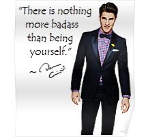 Darren Criss - BE YOURSELF Poster