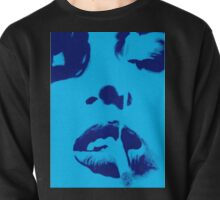 Smoke in Blue Pullover