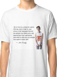 Joe Sugg - WEIRDNESS Classic T-Shirt