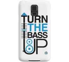 TURN THE BASS UP - Crossfader & Speaker DJ, Dark Samsung Galaxy Case/Skin