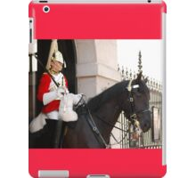 Mounted Guard iPad Case/Skin