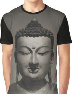 Setting Buddha in sepia Graphic T-Shirt