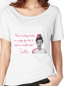 ZOELLA - RAINY DAYS Women's Relaxed Fit T-Shirt