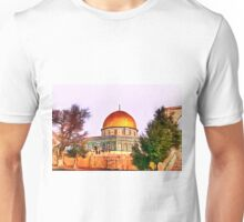 Dome of the Rock Trees Unisex T-Shirt