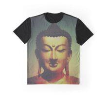 Golden Buddha Graphic T-Shirt