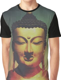Golden Buddha Graphic T-Shirt