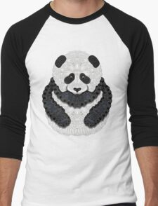 Little Panda Men's Baseball ¾ T-Shirt