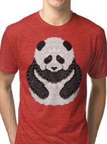 Little Panda Tri-blend T-Shirt