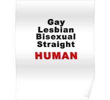 Human. equal Poster