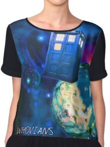 Whovians Best Facebook Group Art Dedication (07/2016) Chiffon Top