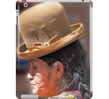 Reflective Bowler iPad Case/Skin