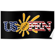US OPEN 2016 - TENNIS Poster
