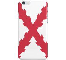 Cross of Burgundy iPhone Case/Skin