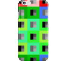 8bit Rubiks Bold Block iPhone Case/Skin