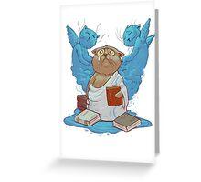 catharsis Greeting Card