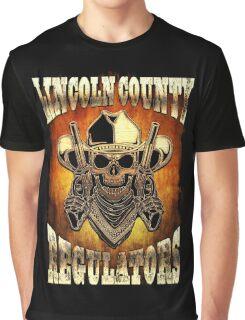 Lincoln County Regulators Design Graphic T-Shirt