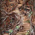 Faerie Library by Jessica Feinberg