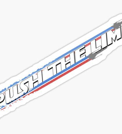 Push the Limit Sticker