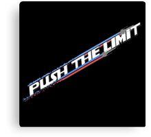 Push the Limit Canvas Print