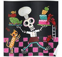Chef Skelly Poster