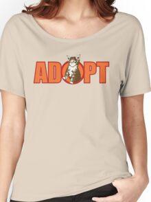 ADOPT Women's Relaxed Fit T-Shirt