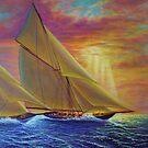 High Seas Sunset by jyruff
