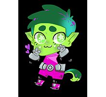 Teen Titans || Beast Boy Photographic Print