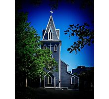 St thomas Anglican Chuch in St John's Newfoundland Photographic Print