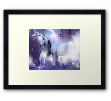 Unicorn Kisses Framed Print