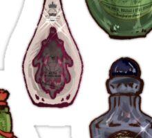 Witch's potion set III Sticker