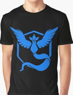 Pokemon Go | Team Mystic | Black Background | HUGE | New! | High Quality! Graphic T-Shirt