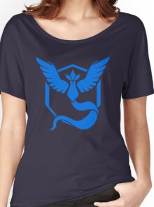 Pokemon Go | Team Mystic | Black Background | HUGE | New! | High Quality! Women's Relaxed Fit T-Shirt