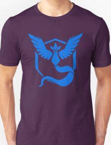 Pokemon Go   Team Mystic   Black Background   HUGE   New!   High Quality! Unisex T-Shirt