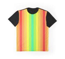 8bit Gradient Rainbow Color Spectrum Graphic T-Shirt